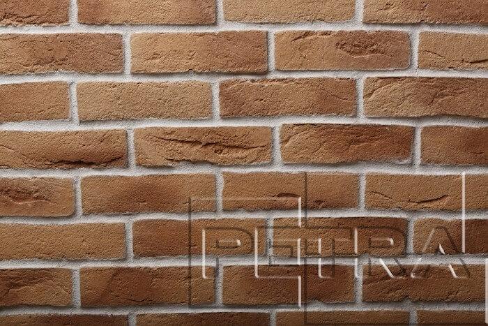 Византийский кирпич 07П2 (Карамель/ Светло-коричневый)